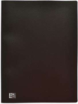 OXFORD presentatiealbum, formaat A4, uit stevige PP, 100 tassen, zwart