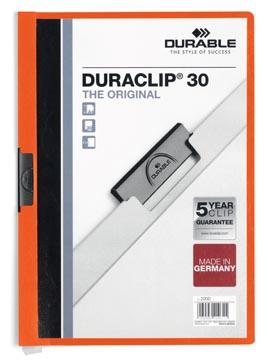 Durable klemmap Duraclip Original 30 oranje