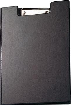 Maul klemmap met kopklem en insteekmap, uit PP, voor ft A4, zwart