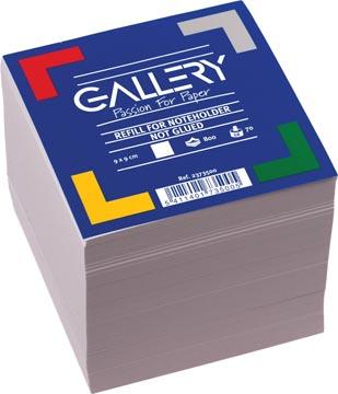 Gallery vulling memokubus, ft 9 x 9 cm, 800 blaadjes