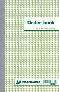 Exacompta orderbook, ft 21 x 13,5 cm, dupli (50 x 2 vel)