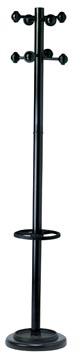 Unilux kapstok Accueil, hoogte 175 cm, 8 kledinghaken, met parapluhouder