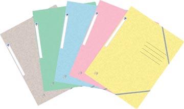 Oxford Top File+ elastomap, voor ft A4, geassorteerde pastelkleuren