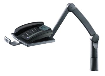 Hansa telefoonarm zwart