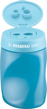 STABILO EASYsharpener potloodslijper, 2 gaten, voor rechtshandigen, blauw