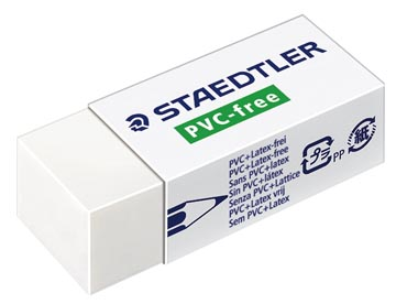 Staedtler PVC-vrije gum ft 43 x 19 x 13 mm