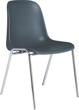 EOL bezoekersstoel Meeting+, polypropyleen