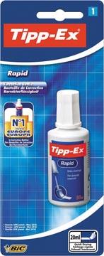 Tipp-Ex correctievloeistof Rapid op blister
