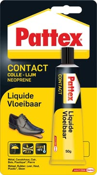 Pattex contactlijm Vloeibaar, tube van 50 g, op blister