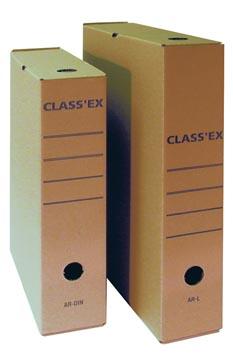 Class'ex archiefdoos, voor ft folio, binnenformaat: 36,5 x 25,1 cm