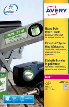 Waterbestendige etiketten