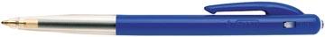 Bic balpen M10 Clic, 0,4 mm, medium punt, blauw