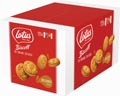 Lotus Biscoff gevulde speculoos, doos van 120 stuks met 1 koekje, 10 g, speculooscrème