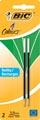 Bic vulling voor balpen 4 Colours Medium, blister met 2 stuks, groen